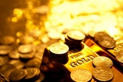 picture of gold bars and coins