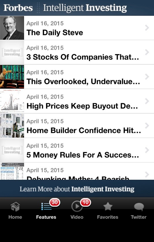 Forbes investing app