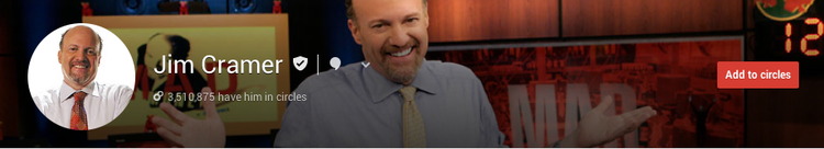 jim cramer google plus