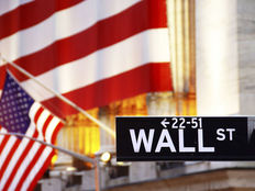 Photodune 2036673 wall street street sign with us flag xs