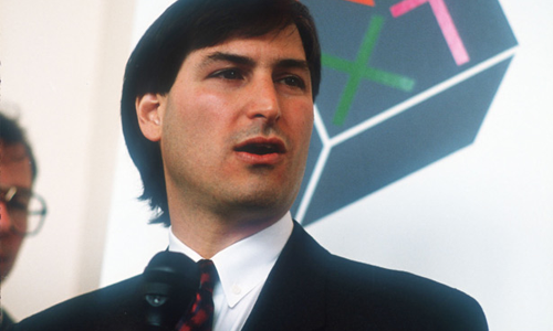 Image of a young Steve Jobs