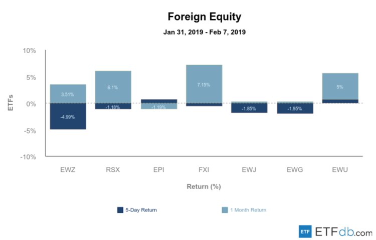 Major Foreign Equity Review