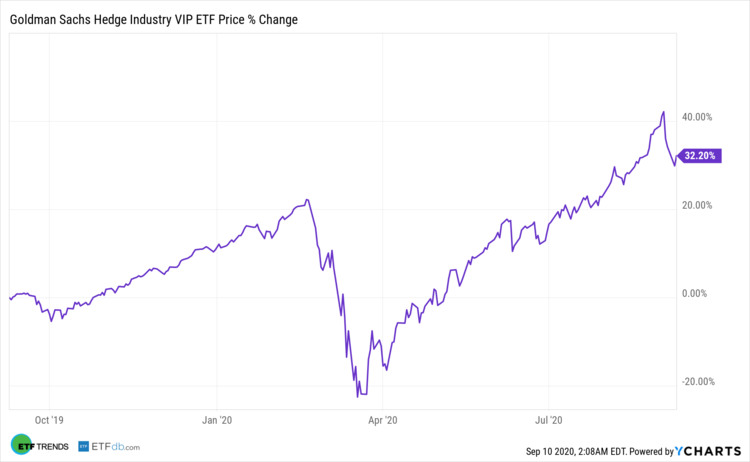 Goldman Sachs Hedge Industry VIP ETF